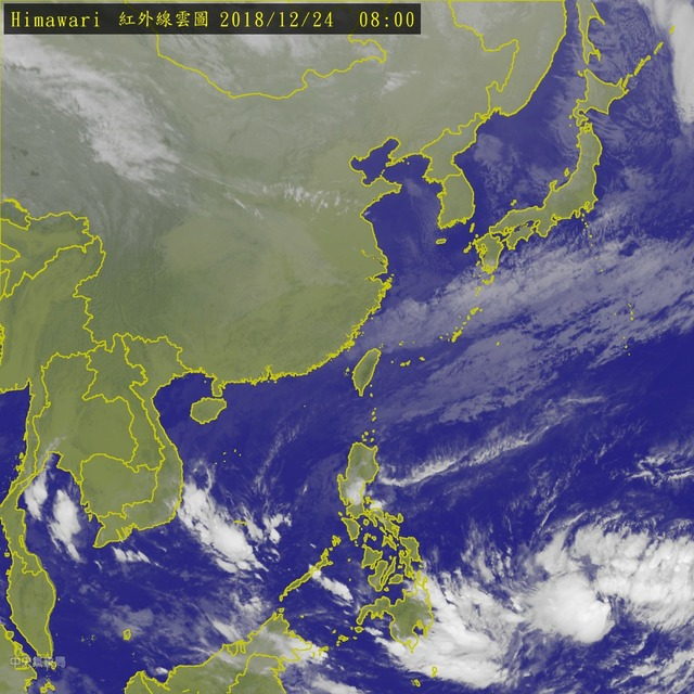 濕濕冷冷! 北北基宜大雨特報 下探15度 | (氣象局提供)
