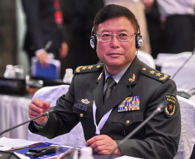 中國人民解放軍中將何雷。(翻攝環球網)