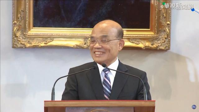 新任行政院長蘇貞昌。