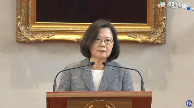 總統蔡英文表示,蘇貞昌有經驗、魄力和執行力。