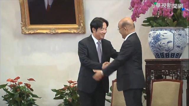 蘇貞昌接任行政院長 自嘲「躺著中彈」  