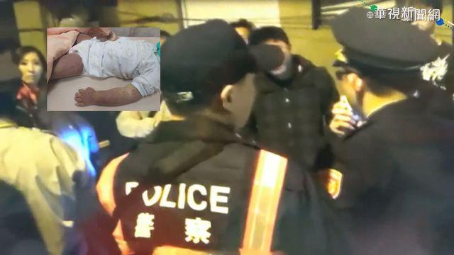 台南女童吵鬧不喝奶遭母虐死 百網友圍警局討公道   (翻攝畫面)