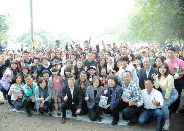 高雄橋頭事件40周年 蔡英文:盼年輕世代勇敢堅定  