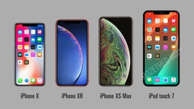 新iPod Touch要來了? 7吋螢幕還有Face ID萬元有找 | iPod touch 7概念圖。(翻攝自Rozetked.me)