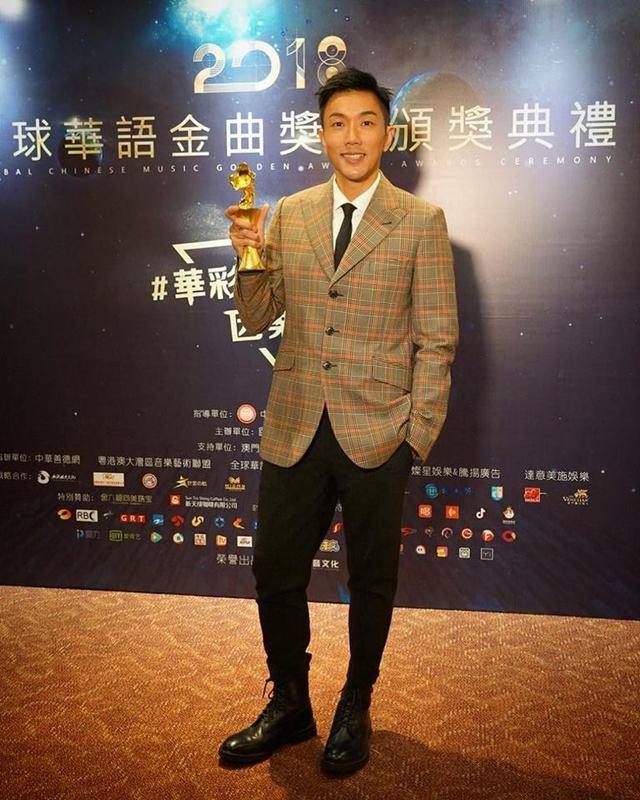 香港男星劉浩龍。(圖/劉浩龍Facebook)