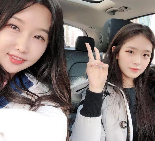 李秀珍與女兒合體現身。(翻攝李秀珍IG)