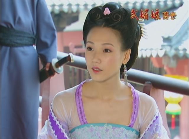演蕭淑妃被記恨至今  張本渝拍《武媚娘》險些無法回台   張本渝在《武媚娘傳奇》中飾演蕭淑妃