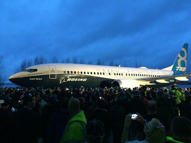 波音737MAX客機(翻攝維基百科)
