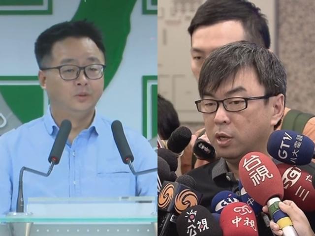 賴清德將登記選總統 羅文嘉:民進黨沒本錢分裂 | 左為秘書長羅文嘉,右為立委段宜康。
