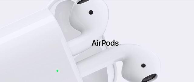 蘋果發布最新的AirPods無線耳機。(翻攝蘋果官網)
