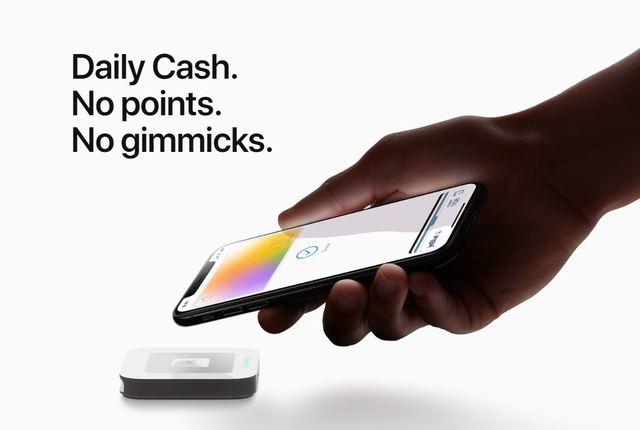 Apple Card是現金反饋的方式,可直接使用付款,且每日折換現金無上限。(翻攝自Apple官網)