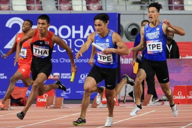 今年亞錦賽男子400公尺接力派出楊俊瀚、魏溢慶、王偉旭、林鴻敏。(圖/中華台北田徑協會FB)