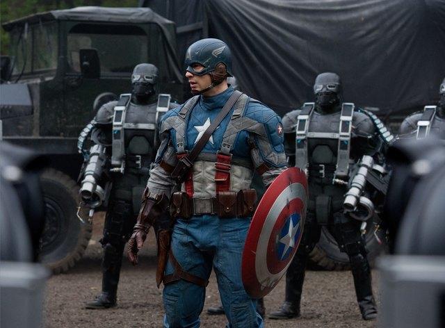 美國隊長。(翻攝自Captain America官方臉書)