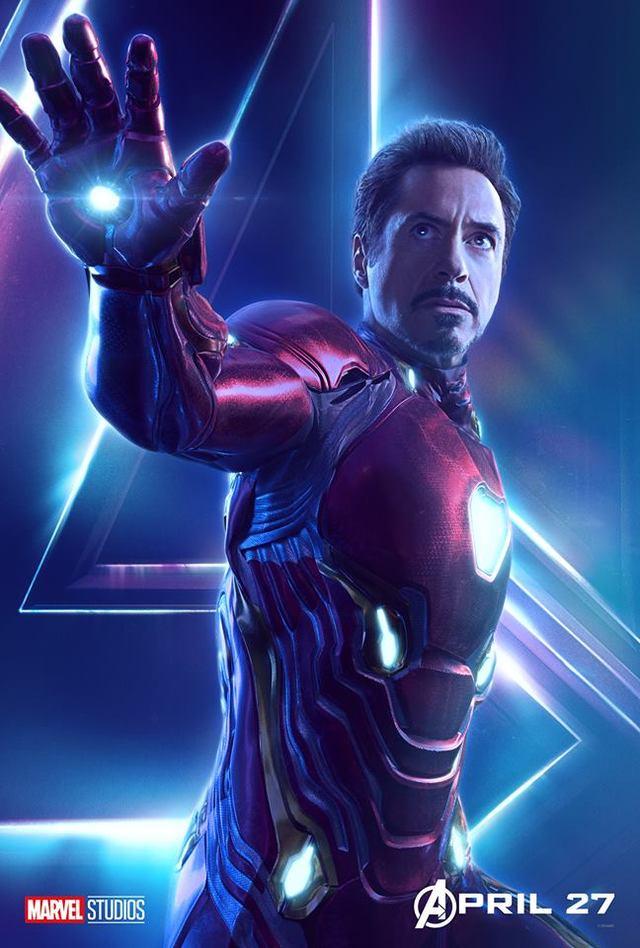 鋼鐵人。(翻攝自Iron Man官方臉書)