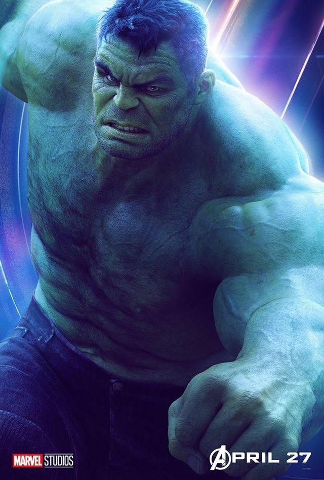 綠巨人浩克。(翻攝自The Hulk官方臉書)