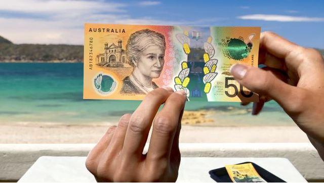 新鈔拼字少了個「i」  澳洲央行糗認:下次重印改正   澳洲央行發行的50元鈔票,票面上被民眾揪出錯字。(翻攝自澳洲儲備銀行網頁banknotes.rba.gov.au)