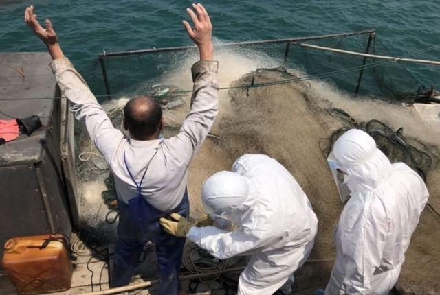 中國漁船非法越界捕魚 馬祖海巡查扣押解  
