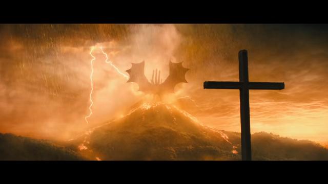 三頭的金色巨龍「基多拉」(翻攝youtube)
