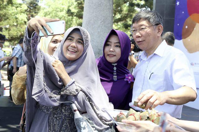 印尼開齋節湧返鄉潮 台灣辦穆斯林嘉年華同慶 | 台北每年都舉辦穆斯林嘉年華。(資料照片)