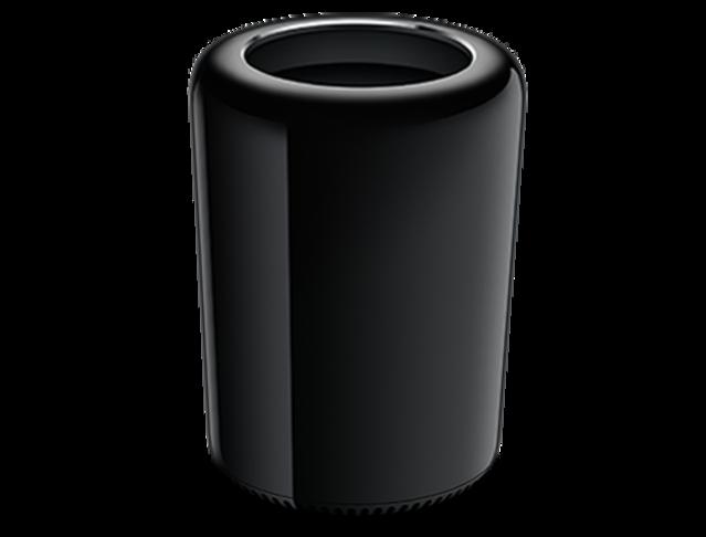 告別「垃圾桶」!怪獸級的Mac Pro秋季上市 | 2013 款Mac Pro,因黑色圓筒外形獲得「垃圾桶」稱號(圖翻攝自 網路)