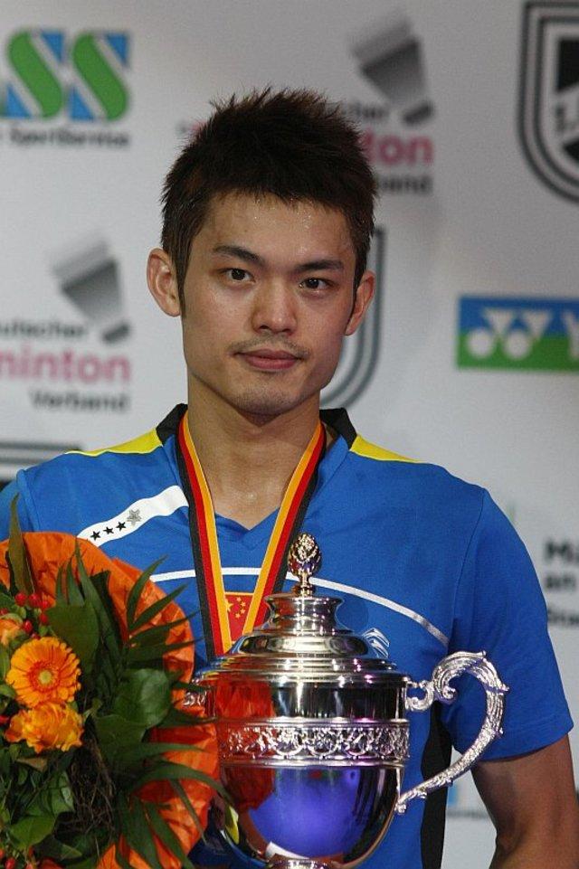 中國羽球名將林丹曾多次擊敗李宗偉。(圖/維基百科)