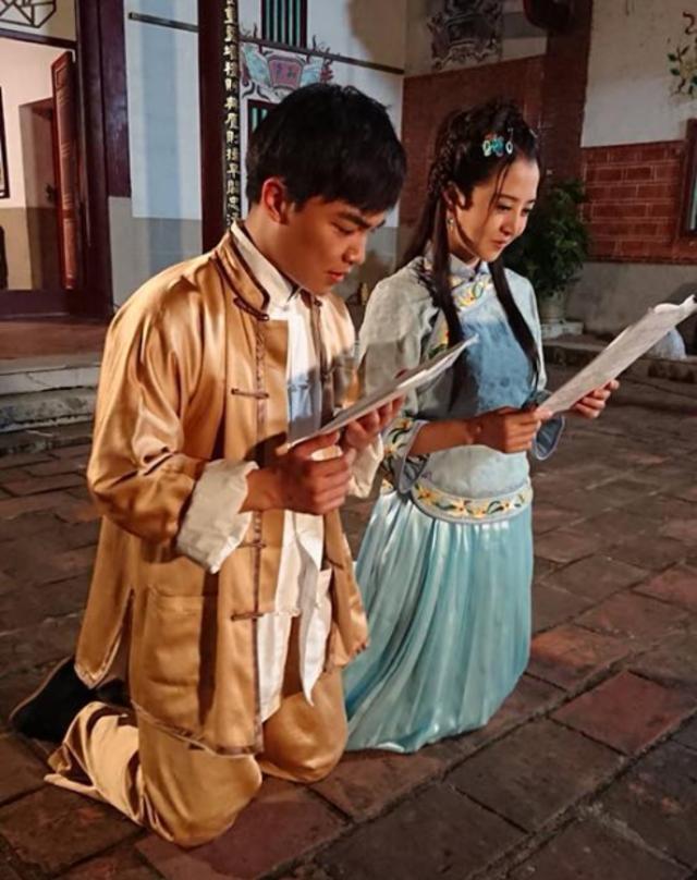 張峰奇和李亮瑾因戲結緣、大談姐弟戀。(翻攝張峰奇臉書)