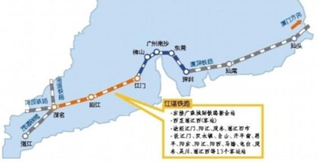 江湛鐵路行經路段圖(圖/截取自網路)
