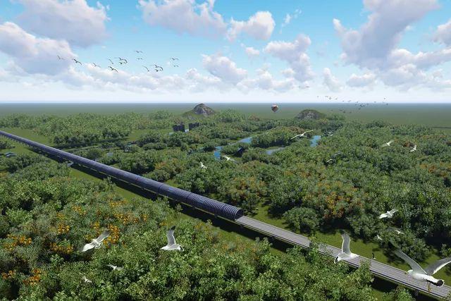中國高鐵砸9億護生態 打造全球首例隔音隧道 | (圖/截取自網路)