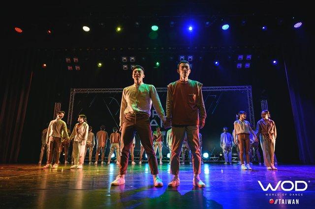《World of Dance Taiwan 2019》中《HRC Hybrid Crew》的「Same Love」舞碼。/翻攝自臉書粉專 @HRCTW