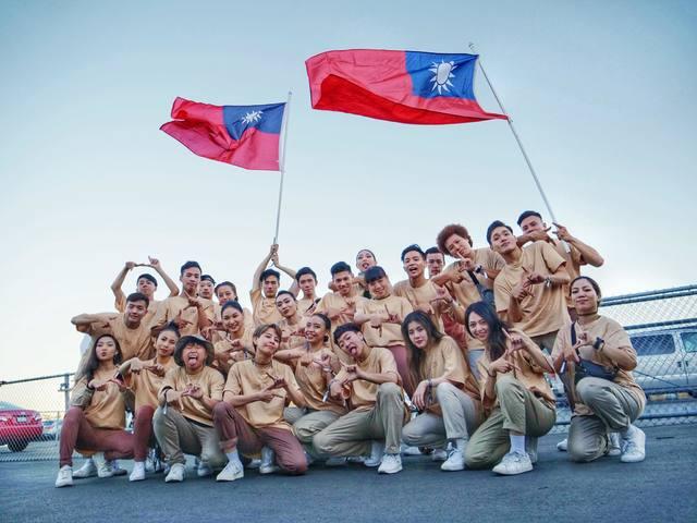 《HRC Hybrid Crew》於美國加州參加《World of Dance》世界總冠軍賽獲得世界第六名。/《HRC Hybrid Crew》提供