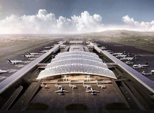 第三航廈示意圖。(桃機公司提供)