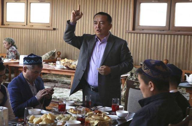 哈薩克維權鬥士無預警釋放 無奈透露協議內容   賽爾克堅是活躍的社運人士。(翻攝自美聯社)