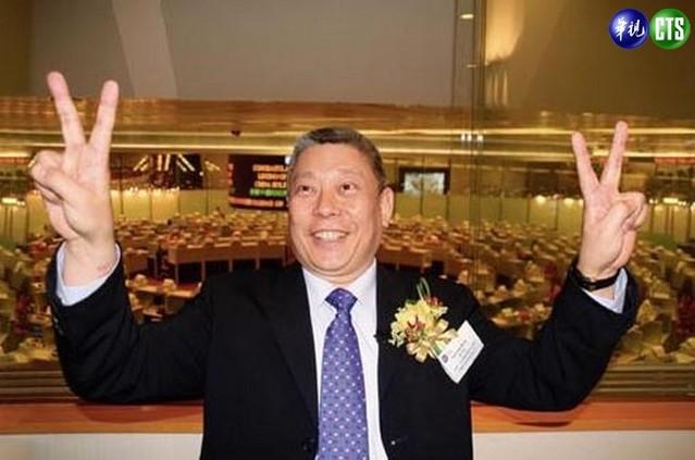 旺中集團董事長蔡衍明,透過聲明要求柯文哲講清楚、說明白(資料照)