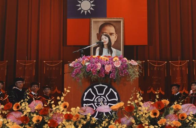 江孟芝回母校師大演講,翻轉人生事蹟鼓勵眾多網友