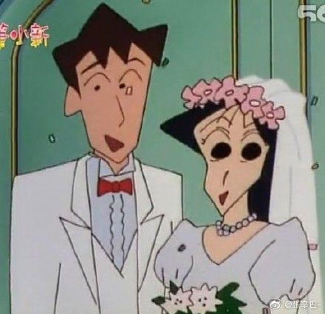松坂老師曾有一個男友行田德郎。(翻攝自微博)
