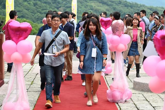 中華電信和未婚教師聯誼活動