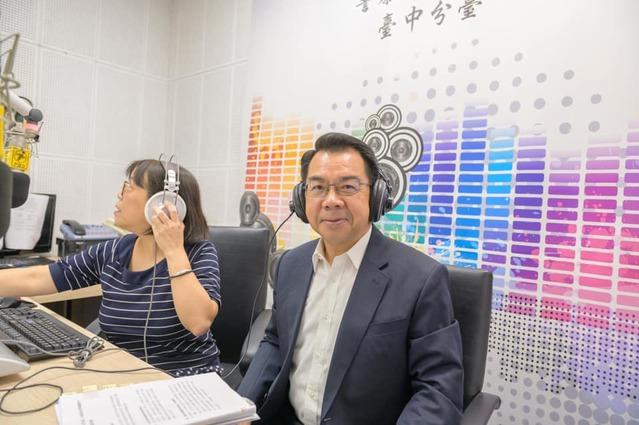 台中市警局局長。(放縱影像FangZong Film Studio提供)