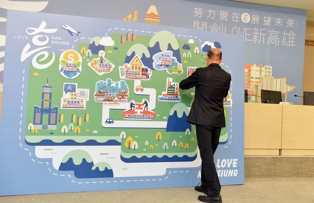 國民黨總統候選人韓國瑜晚間發文細數政績(翻攝臉書韓國瑜)