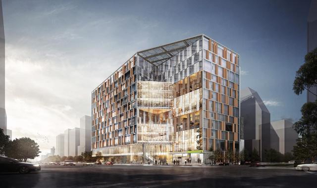 南門大樓暨市場改建統包工程完工後模擬圖片