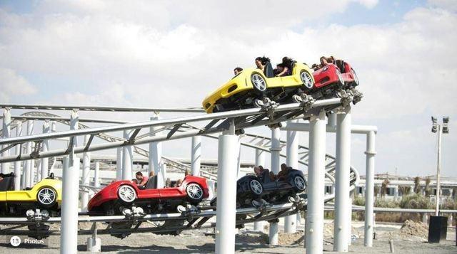 法拉利世界主題樂園以跑車為主題/圖取自motor1.com