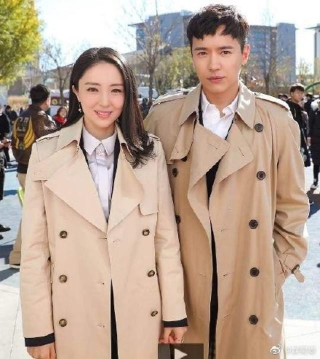 高雲翔與妻子董璇於2019年7月離婚。(翻攝微博)