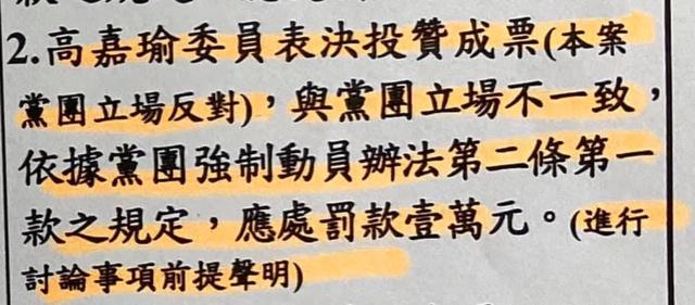 (翻攝臉書高嘉瑜)