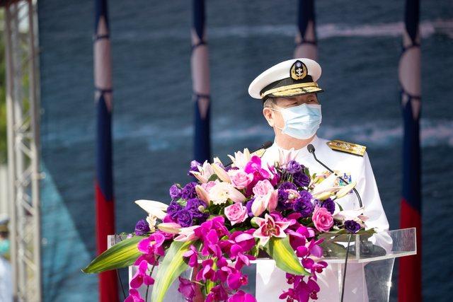 參謀總長黃曙光。(臉書/中華民國海軍)