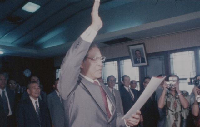 【16釐米膠卷】經典回顧 林洋港接任台灣省主席 |