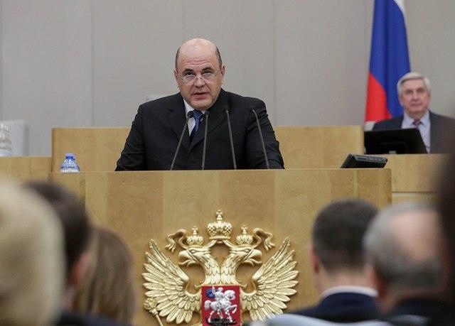 俄國連3日破萬確診 全國居家隔離延長至11日 | 俄羅斯總理米舒斯欽日前確診武漢肺炎(翻攝維基)