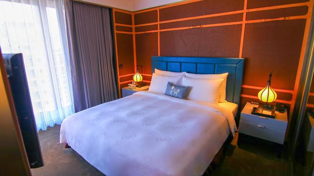 水京棧國際酒店水漾套房。
