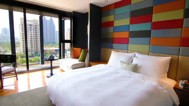 水京棧國際酒店豪華景觀客房。