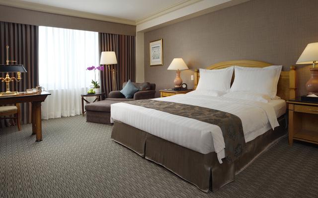 漢來大飯店精緻客房。