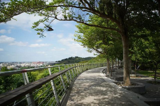 台中市清水自行車道。