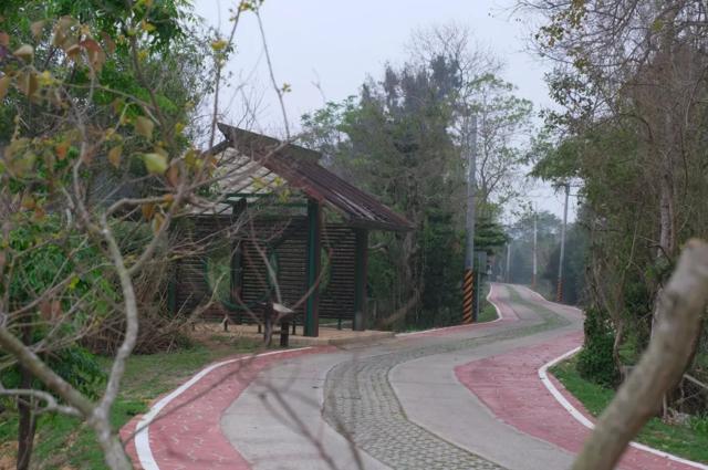 金門縣金城環鎮自行車道。